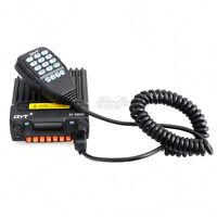QYT KT-8900R 25W Interphone Mobile Radio Transceiver w/ BT-89 Wireless Micphone