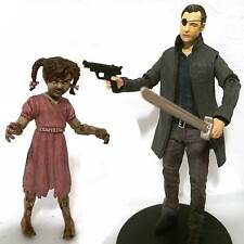 GOVERNOR w/PENNY & CUSTOM WEAPONS & STAND • C9 • THE WALKING DEAD