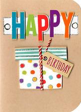 Buon Compleanno biglietto d'auguri Impreziosito rifinita a mano schede zolletta di zucchero