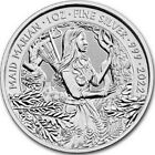 2022 1 Oz Silver £2 Great Britain MAID MARIAN Myths N Legends BU Coin.