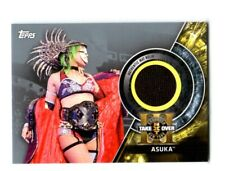 WWE Asuka 2018 Topps Silver NXT Takeover Brooklyn Mat Relic Card SN 12 of 25