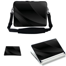 "17"" 17"" Laptop Sleeve Bag Case w Shoulder Strap & Matching Skin Mouse Pad 1602"