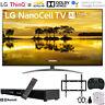 "LG 65"" 4K HDR Smart LED NanoCell TV w/ AI ThinQ (2019) + 31"" Soundbar Bundle"