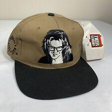 American Needle Hat Blockhead SNL Garth Wayne's World Snapback Cap VTG NWT
