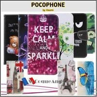 Etui Coque housse Cuir PU Leather Stand Wallet Case Cover XIAOMI Pocophone F1