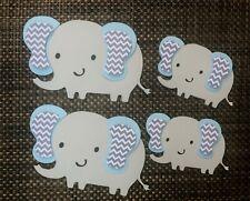Elephant centerpiece/ elephant theme/ Baby shower/ Light Blue Elephant