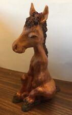 Happy Acres #319 WINNY Precious Art Sleeping Horse Collectible Figurine Gift