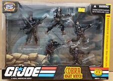 "G.I. Joe 25th Anniversary Cobra Night Watch 5-Pack Exclusive 3.75"" Figure Set"