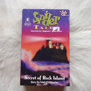 BePuzzled SPIDER TALES Puzzle HALLOWEEN PUZZLE Spooky Mystery Puzzle 250 Pieces