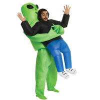 Alien Kidnapping Inflatable Clothing Fun Holiday Costume Party Dress Up Adul.ex