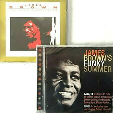 James Brown 2 CD Lot Gold Collection Hits + Mojo Funky Summer Tribute 1998 2006