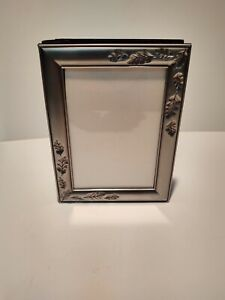 Silver plated Photo Album slide in photos. Holds 101 Photos