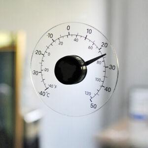 Outdoor Thermometer Self Adhesive Door and Window Waterproof Temperature Gauge