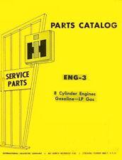 International Farmall V-304 345 392 8 Cylind. Gas Engine Parts Catalog Manual IH