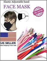 50  DIY Mask Sewing Elastic Band with Adjustable Buckle.