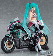 Racing Miku 2013:EV MIRAI ver. Figma 233 & EX:ride TT零13 SPride.06 Action Figure