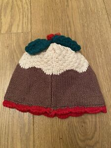 Next Christmas Pudding Hat 12-18m