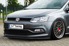 Sonderaktion Spoilerschwert Frontspoiler Cuplippe VW Polo 5 6C 6R aus ABS ABE