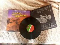 DIVINE MADNESS BETTE MIDLER  VINYL RECORD  LP