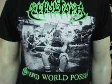 SEPULTURA.NEW SML SHIRT.THRASH METAL.OBITUARY.PESTILENCE.KRATOR.METALLICA.PANTER