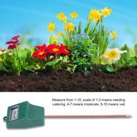 Moisture Sensor Meter Soil Water Monitor Hydrometer Garden Farming Flower M