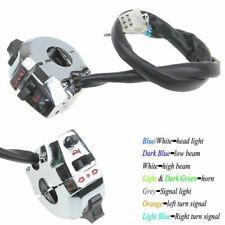 "Motorcycle 7/8"" Handlebar Headlight Turn Signals Light Horn Switch for Honda BMW"
