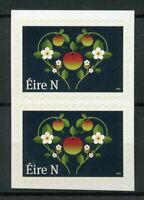Ireland 2019 MNH Wedding Stamp 2v S/A Pair Apples Flowers Nature Hearts Stamps