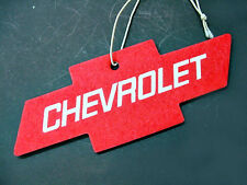 Chevrolet Red Tropical Air Freshener Interior Mirror Dashboard Emblem Visor NOS
