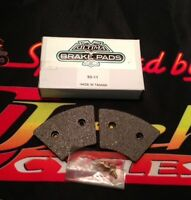 Ultima Sintered Brake Pads for XL and FX Front 74-77 with rivets OEM 44281-74
