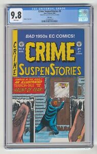 EC CRIME SuspenStories #8, CGC 9.8
