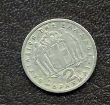 2 apaxmai 1957 – Grèce – Drachmai / pièces de monnaies