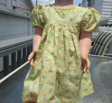 "Doll Clothing Dress Floral Yellow Fits Ideal Saucy Walker Similar 22""-23"" Dolls"