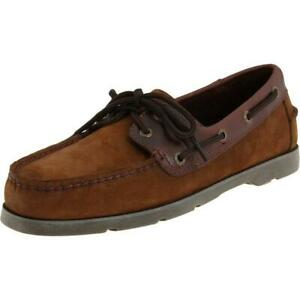 Sperry Top-Sider Men's Leeward 2-Eye Brown/Buck Boat Shoes