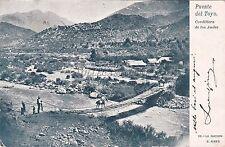 ARGENTINA - Puente del Toyo - Cordillera de Los Andes 1904