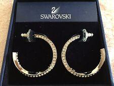 Brand new authentic SWAROVSKI open hoop earrings