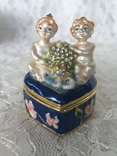 Gemini Sara D Ward Collection Treasure It Trinket Box New In Box