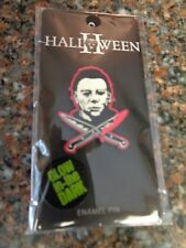 Glow in Dark New on Card Halloween Ii Michael Myers Lapel Pin