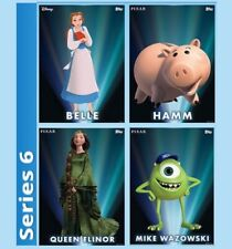 4 CARD SET-ENCHANTED TRANSFORMATIONS TILT SERIES 6-TOPPS DISNEY COLLECT DIGITAL