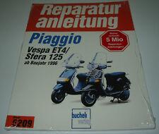 Reparaturanleitung Vespa Piaggio ET4 / Sfera 125 ab Baujahr 1996 NEU!