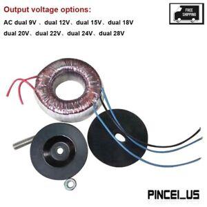 100W Toroidal Transformer Power DAC Preamp Amplifier AC Dual 12V/15V/18V/22V/24V