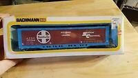 HO SCALE TRAIN Car IN BOX VINTAGE BACHMANN ATSF 37294 ALL DOOR SANTA FE SHOCK