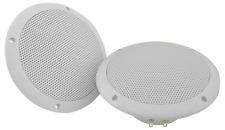 """Waterproof Ceiling / Wall Speakers 6.5"""" 100w White (Pair)"""