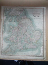 ENGLAND MAP LARGE BY JOHN CARY DATED 1809 54CM X 59CM