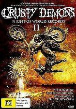 Crusty Demons 2 Night of World Records Movie DVD Region 4 Aus Postage
