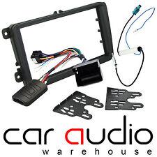 VW Passat 2004-2011 Car Stereo Radio Fascia Facia & Steering Wheel Interface Kit