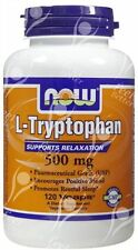 Now, L-Tryptophan, 500mg x120Vcaps;- DEPRESSION - ANXIETY