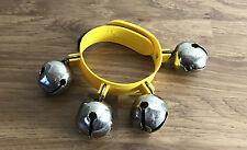 Single Set of ELC Early Learning Centre Wrist Bells Velcro Needs Glueing Back On