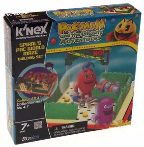 KNEX Building Sets Pacman Ghostly Adventures Spirals Pac World Maze