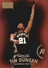 1997 SkyBox Tim Duncan #112 Basketball Card