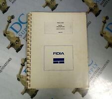 FIDIA CNC DATA TRANSFERS USER'S MANUAL